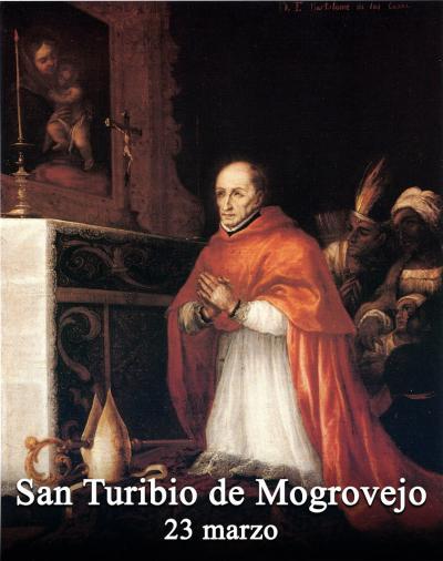 San Turibio de Mogrovejo Vescovo