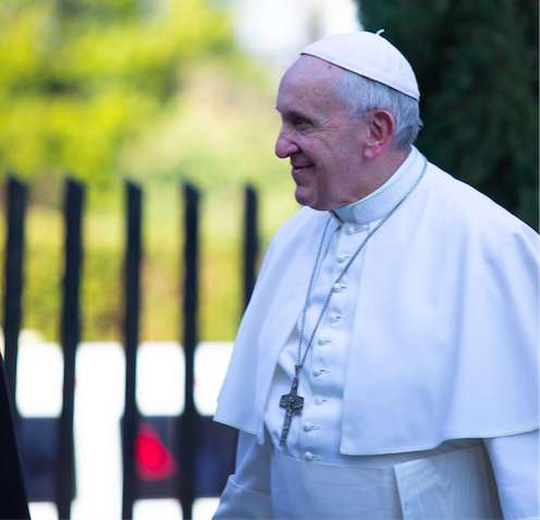 Papa Francesco a Labaro