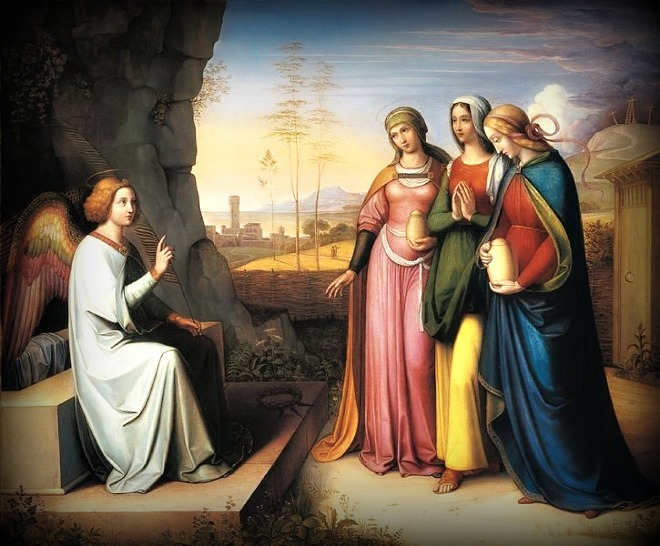 Gesù risorto sepolcro