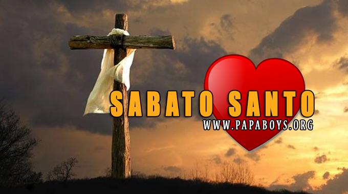 20 Aprile 2019 Giorno liturgico di oggi Sabato Santo