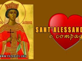 Sant' Alessandra e compagni Martiri a Nicomedia