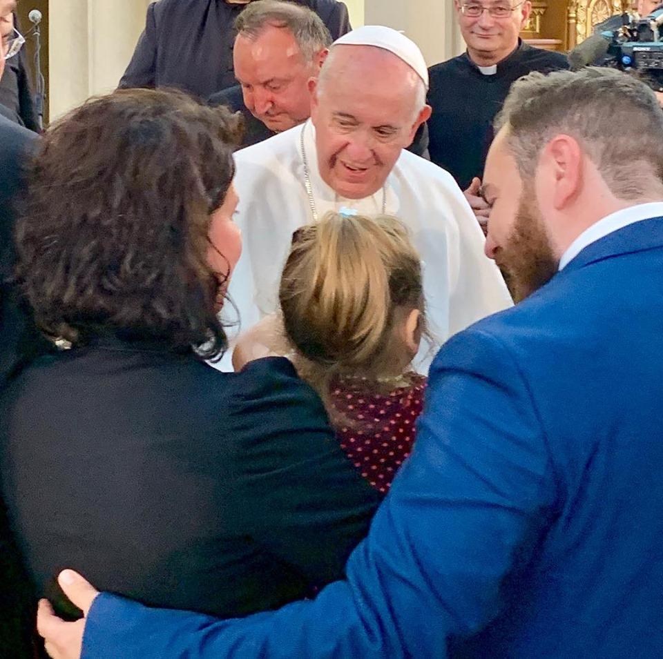 Papa Francesco al popolo rom: