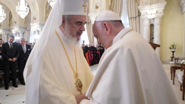 papa francesco in romania