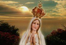 madonna di fatima preghiera sera