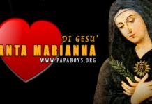 santa Marianna di Gesù de Paredes