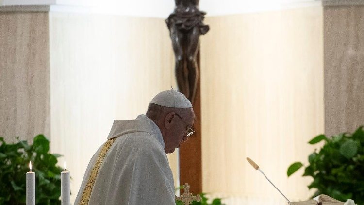 papa francesco messa del mattino