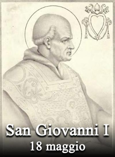 San Giovanni I, Papa e martire