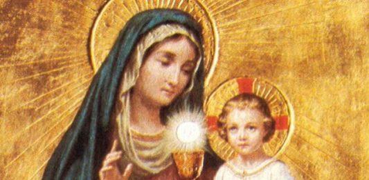 Lode a Maria - 17 Giugno - La Madonna e l'Eucarestia