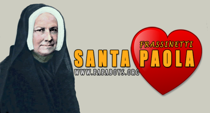 Santa Paola Frassinetti