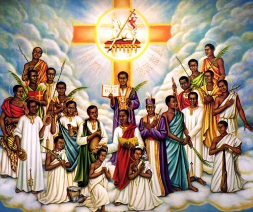 Santi Carlo Lwanga e 12 compagni Martiri