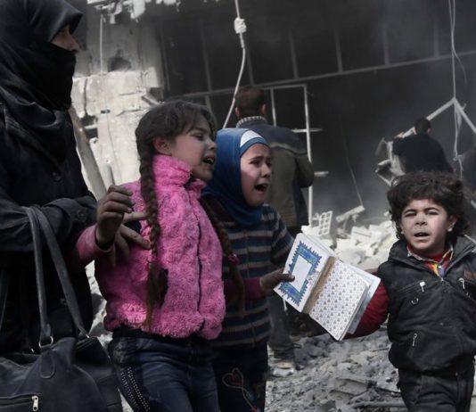 bambini uccisi in siria