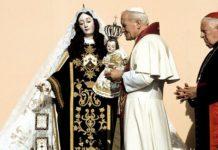 giovanni paolo II.madonna del carmine