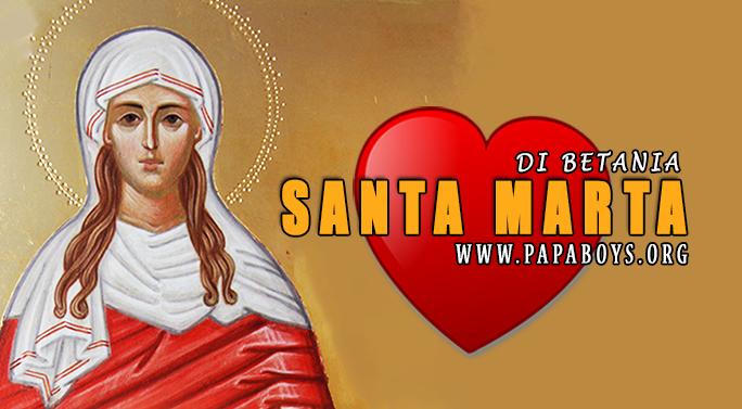 Il Santo di oggi 29 Luglio 2019 Santa Marta di Betania
