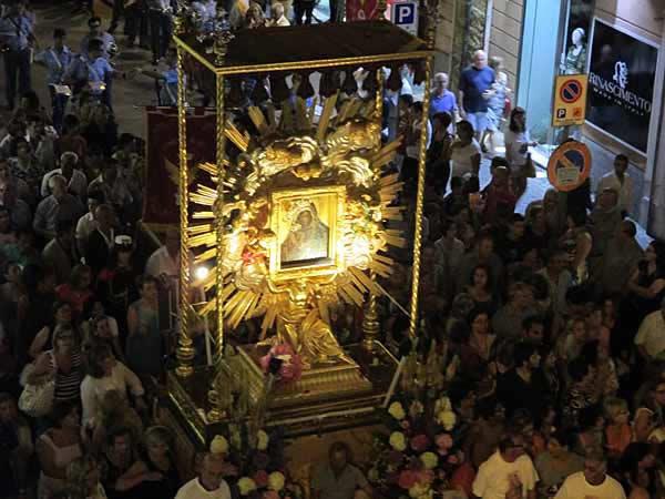 Lode a Maria 23 agosto 2020, Madonna dell'Alemanna di Gela, prega per noi