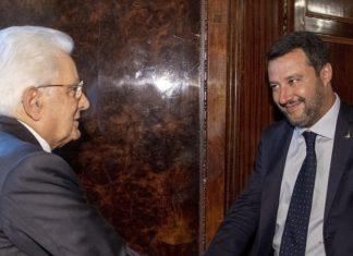 Mattarella.Salvini