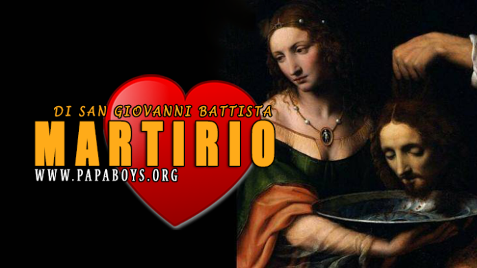 Martirio di San Giovanni Battista