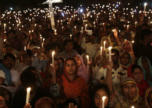 cristiani-Pakistan-lahore-attentati-ansa