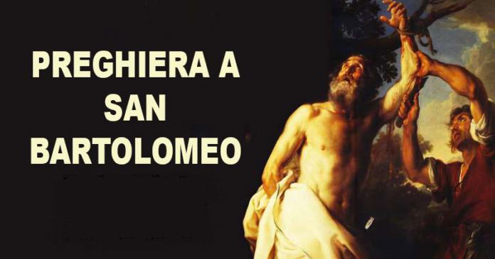 Preghiere potenti a San Bartolomeo da recitare oggi, lunedì 24 agosto 2020, per liberarsi dalle ossessioni