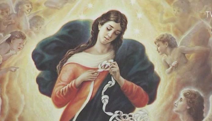 preghiera della notte a maria che scioglie i nodi 12 e 13 ottobre 2019