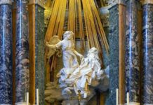 Estasi di Santa Teresa. Santa Maria della vittoria