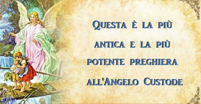 Angelo Custode preghiera