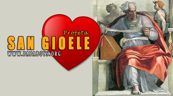 San Gioele, Profeta