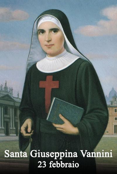 Santa Giuseppina Vannini, Vita Santa Giuseppina Vannini, Figlie di San Camillo, Vannini, Giuseppina Vannini, Memoria Santa Giuseppina Vannini