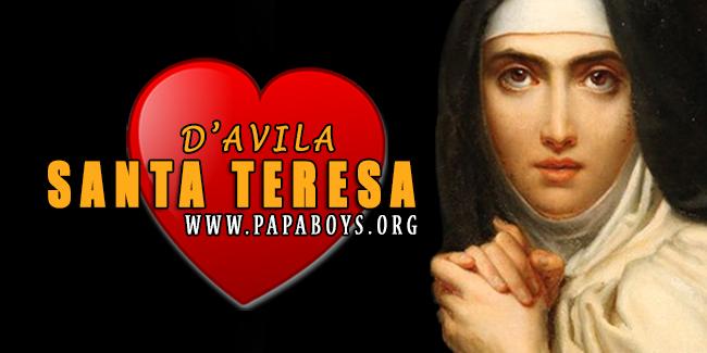 Il Santo di oggi 15 Ottobre 2019 Santa Teresa di Gesù (d'Avila ...