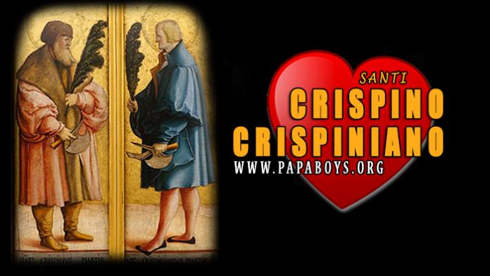 Santi-Crispino-e-Crispiniano