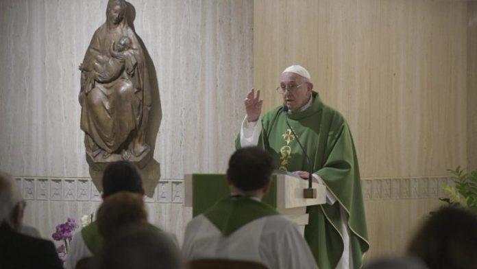 Papa Francesco Santa Martha