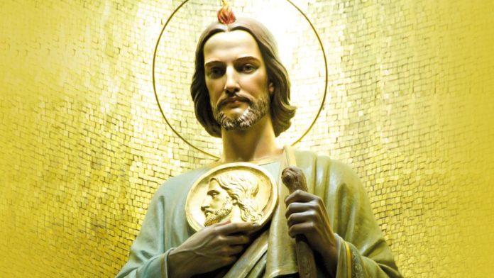 Preghiera molto potente, nei casi disperati, da recitare oggi, 28 ottobre 2019, a San Giuda Taddeo!