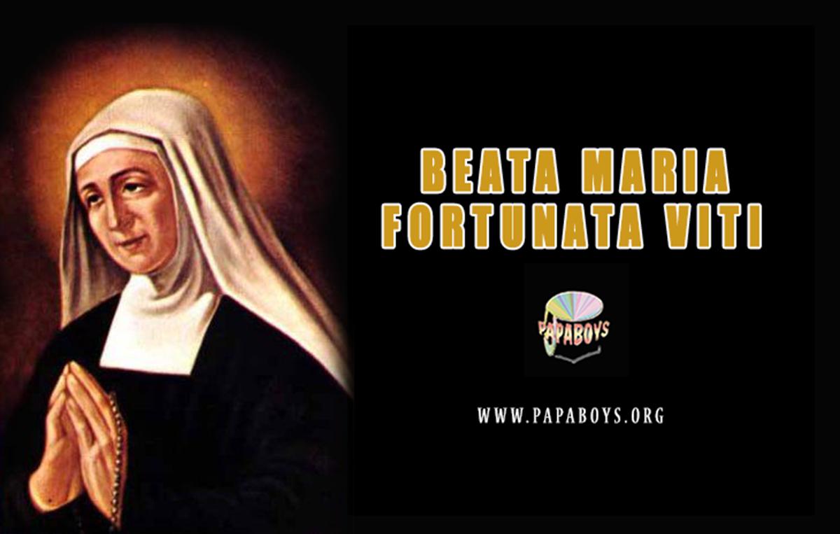 Beata Maria Fortunata Viti