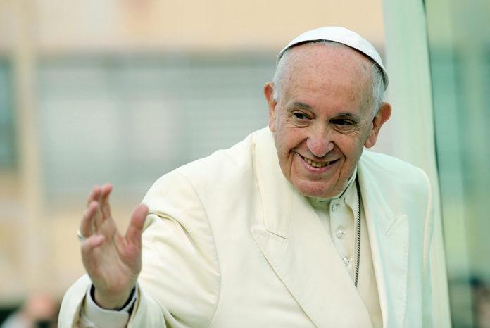Visita di Papa Francesco alla Cittadella della Carità in occasione del 40° della Caritas di Roma