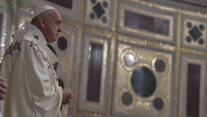 Papa Francesco, Messa a San Giovanni
