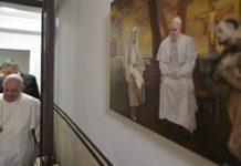 Papa Francesco oggi a Roma