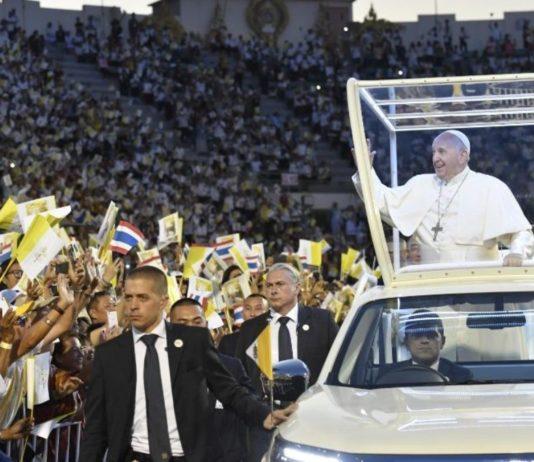Papa Francesco a Bangkok