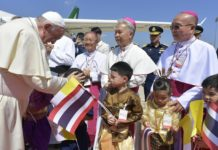 Papa Francesco in Thailandia