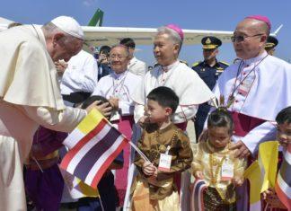 Papa Francesco in Thailandia