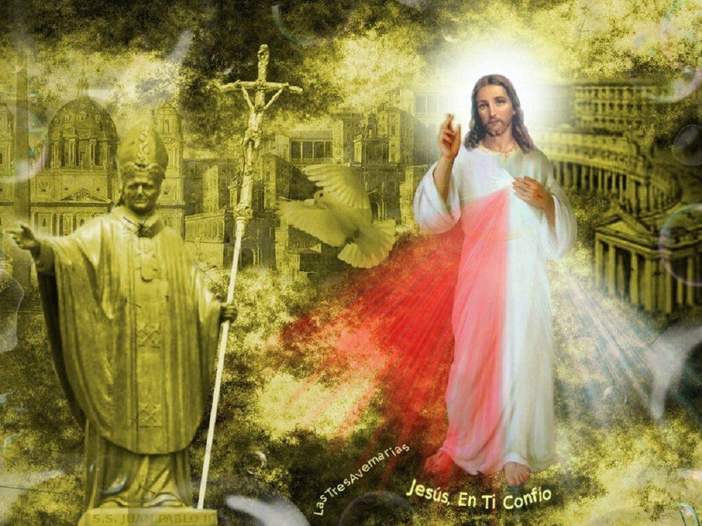 giovanni paolo II e la divina misericordia