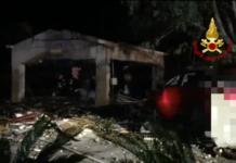 Esplosione a Messina in una fabbrica di fuochi di artificio
