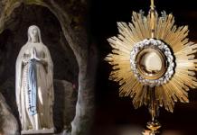 Lourdes Santissimo Sacramento