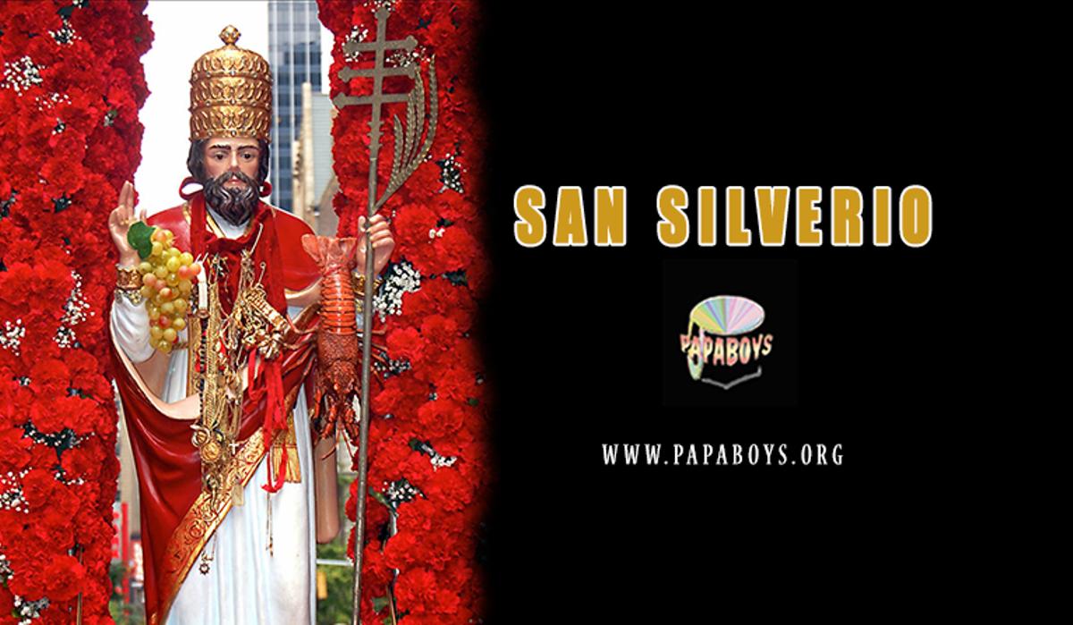 San Silverio, Papa e martire