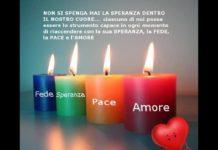 candele dell'avvento