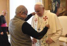 Un momento dell'udienza alle Ong di ispirazione cattolica