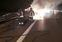 incendio auto autostrada fuoco (1)-2