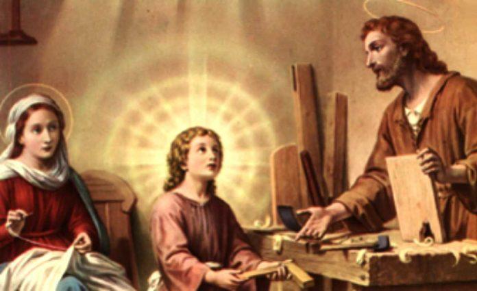 5° giorno della Novena alla Santa Famiglia
