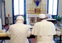 Castel Gandolfo, Papa Francesco incontra Benedetto