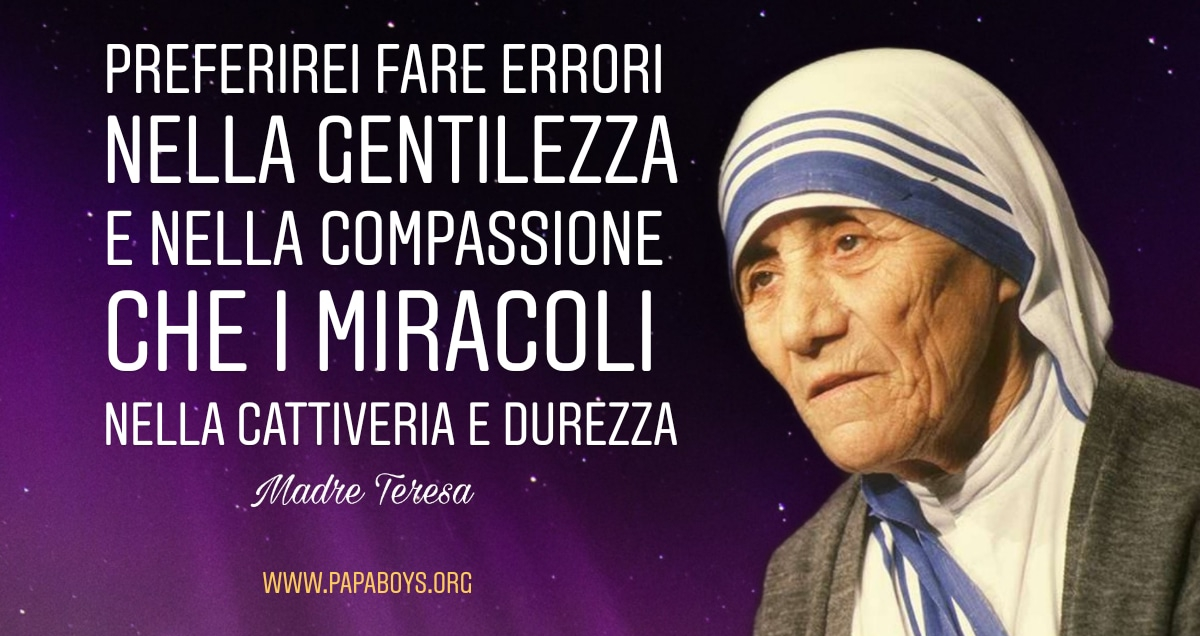 Madre Teresa Di Calcutta Dio E Amore Dio E Per Sempre