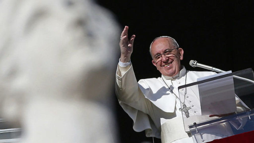 Papa Francesco Angelus oggi
