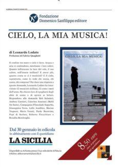 'Cielo, la mia musica!' Il 30 gennnaio esce il nuovo libro del giornalista siciliano Leonardo Lodato3